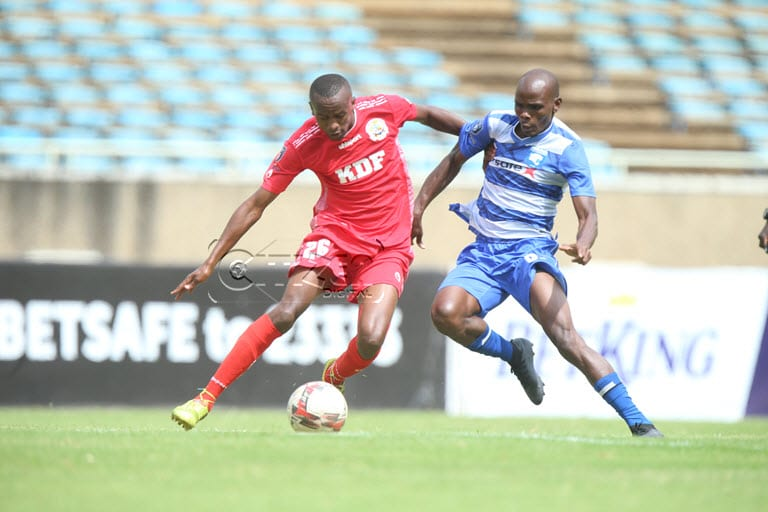 Nyangweso: We are ready to upset AFC Leopards