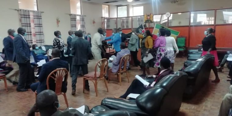 Baringo MCAs, county assembly staff summoned over BBI vote chaos