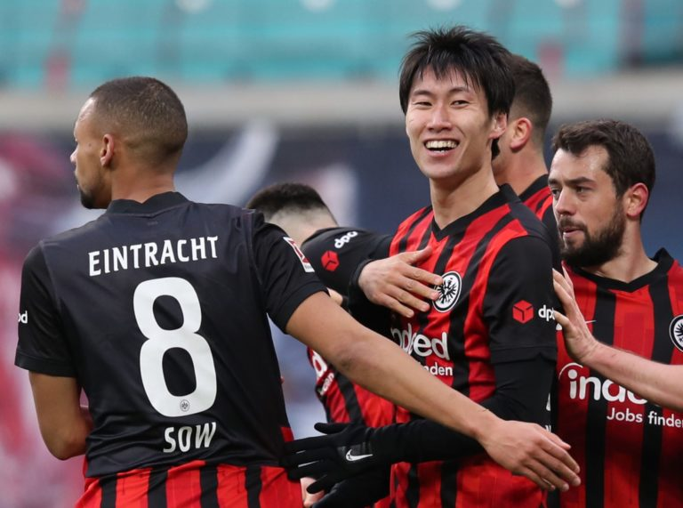 Leipzig slip up in title race after Frankfurt stalemate