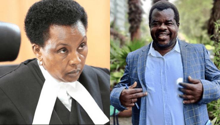 Acting CJ Philomena Mwilu accuses activist Okiya Omtatah of harassment