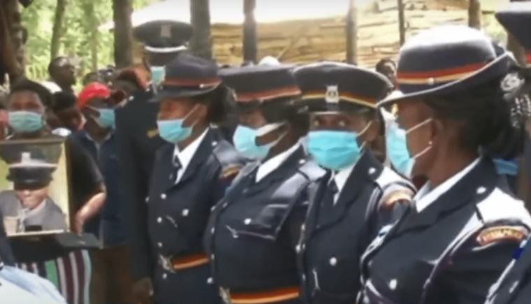 Slain police officer Pauline Wakasa buried in Malava