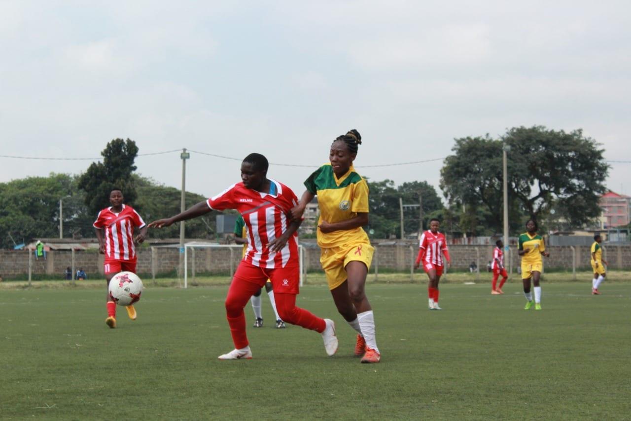 Ulinzi Starlets wallop Mathare United at Camp Toyoyo