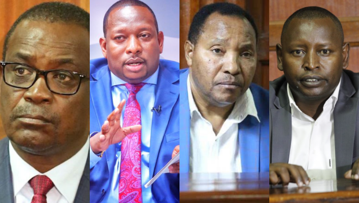 EACC probing Ksh.11.5B unexplained wealth of Kidero, Sonko, Waititu & Governor Lenolkulal