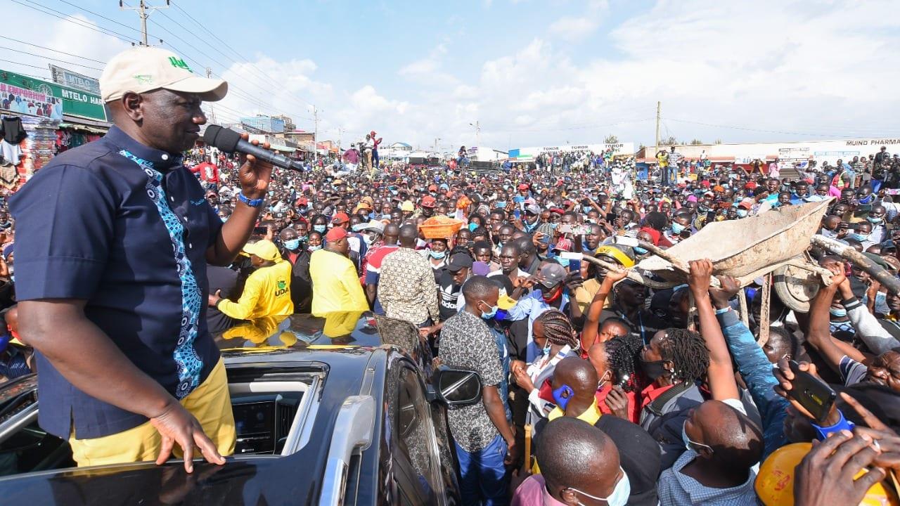 'Shida ya Kenya ni uchumi si katiba' DP Ruto says