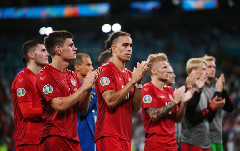 Heroic Danes show heart despite fall at final Euro hurdle