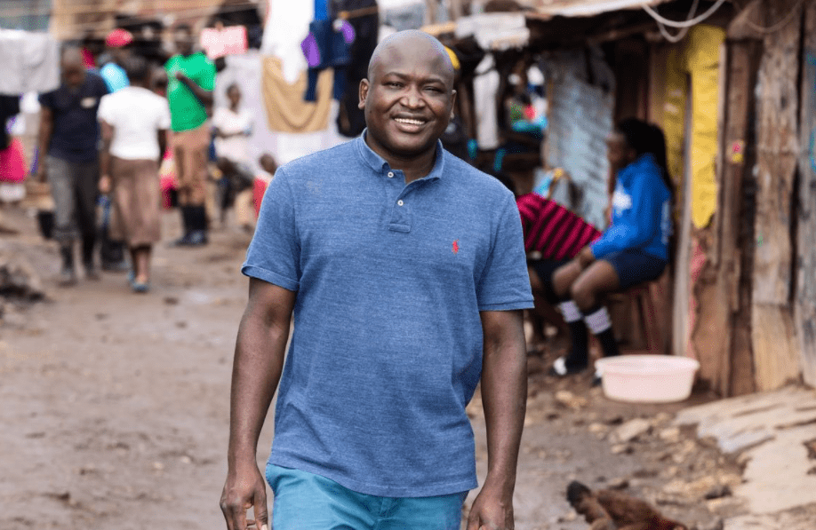 PROFILE: Kennedy Odede became a street kid at age 10, now he's fighting poverty in the slums