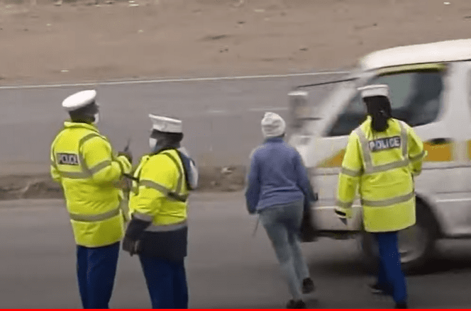 Three traffic police officers face disciplinary action after being caught on video soliciting bribes