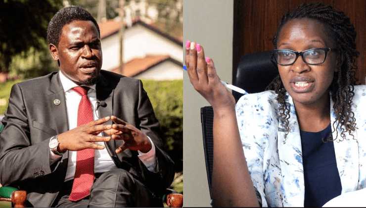 Suspended LSK CEO Mercy Wambua accuses Nelson Havi of assault