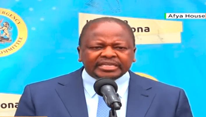 4th wave? Health CS Mutahi Kagwe issues warning over rising COVID-19 cases