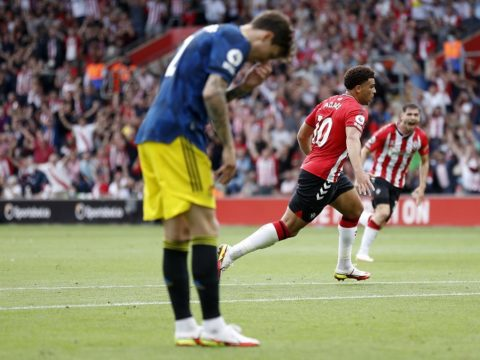 Sloppy United held at Southampton in reality check