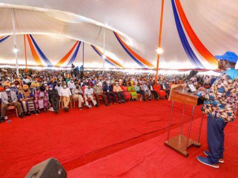 Nyanza leaders endorse Raila's 2022 State House bid