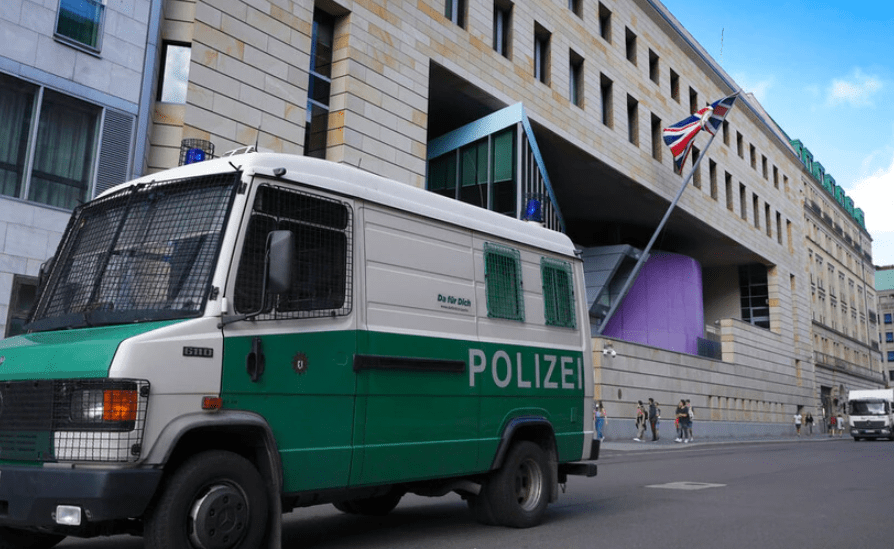 Germany arrests British Embassy worker accused of spying for Russia