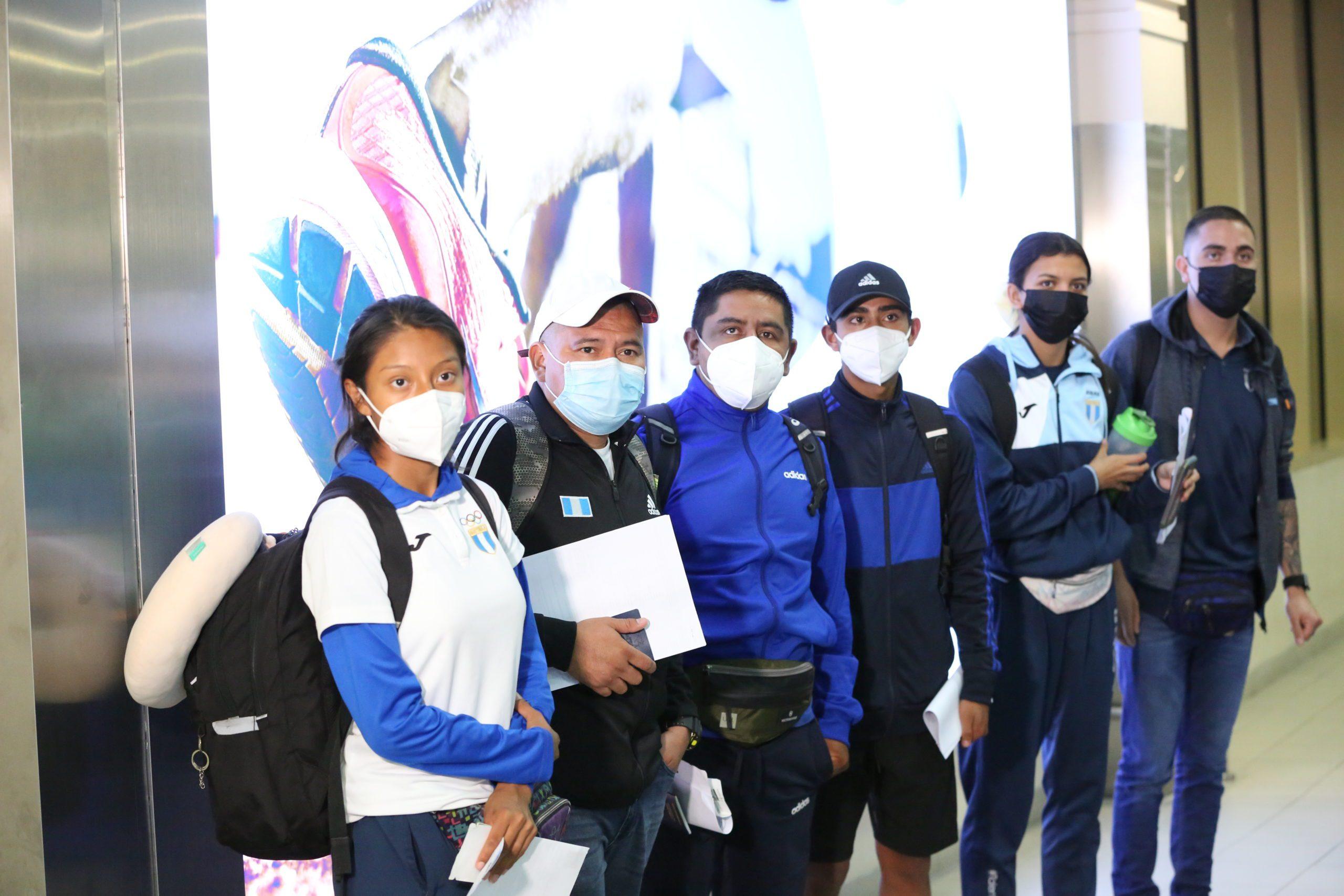 Team Guatemala in Nairobi for the WU20