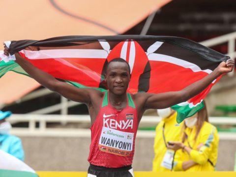 Wanyonyi and Amit lead new wave of race walking stars