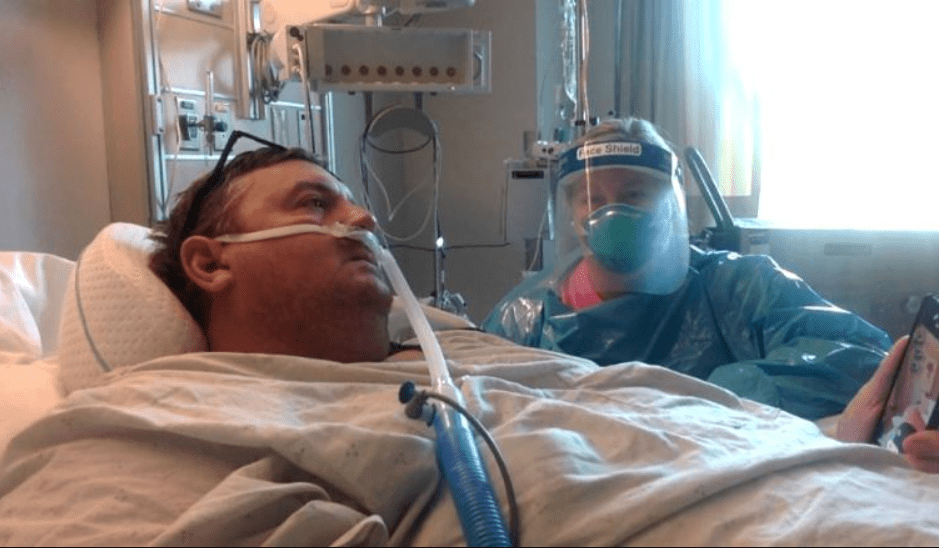 Unvaccinated dad records days of regret in hospital — and makes heartbreaking request for daughter's wedding in case he dies