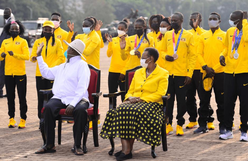 Heroic reception, huge rewards for Ugandan Olympic medallists