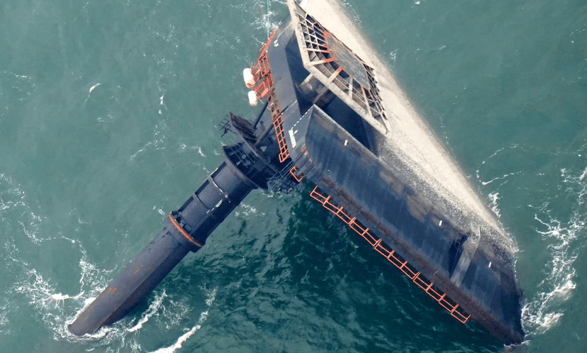 U.S says capsized vessel never received weather warning