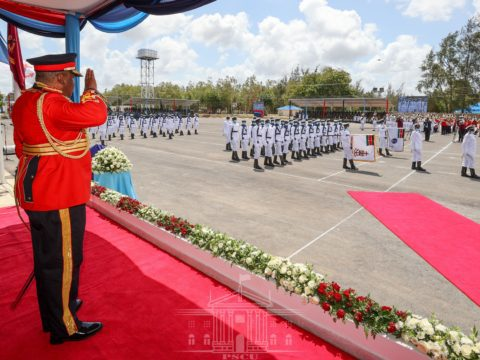 President Kenyatta reminds Kenyans to play their role in the country's security