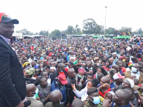 DP Ruto says intimidation will not stop his presidential ambition