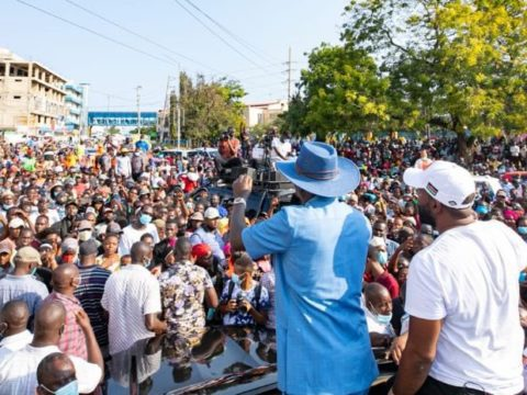 Raila rallies the coast region behind ODM's presidential bid