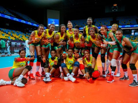 Cameroon dominate Malkia Strikers to retain African title