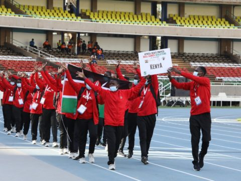 Pomp, colour as CS Amina opens Africa Deaflympics qualifiers