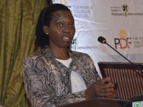 Martha Karua unanimously elected as Mount Kenya Unity Forum spokesperson