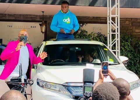 Sprinter Omanyala gifted with a car