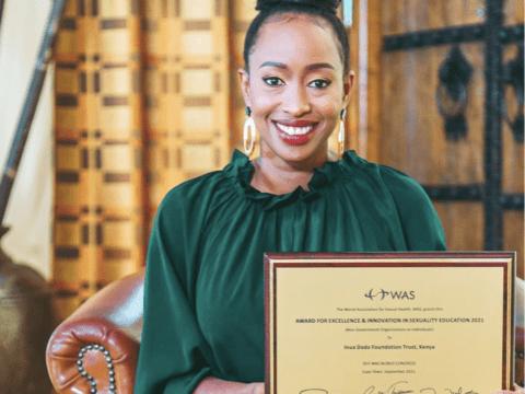 Janet Mbugua's Inua Dada Foundation bags Global Award