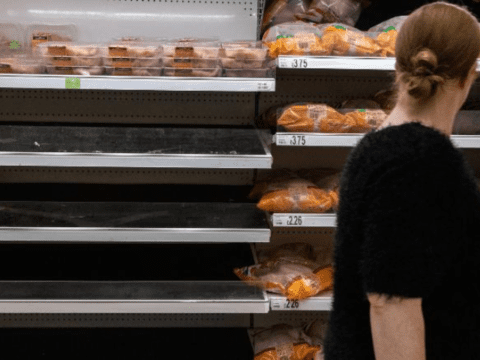 Gas prices in the U.K could trigger food shortages within weeks