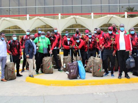 Kenya's Wafalme return home from Kigali
