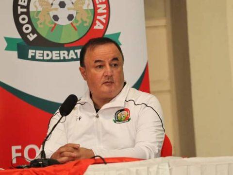 Turkish Firat unveiled as Harambee Stars coach