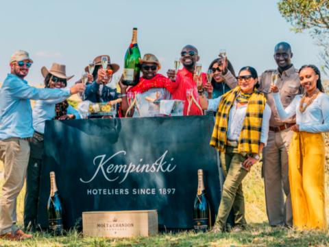 Moët & Chandon partners with Kempinski for luxury Maasai Mara experience