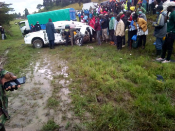 Five killed in a road accident on Londiani-Muhoroni road