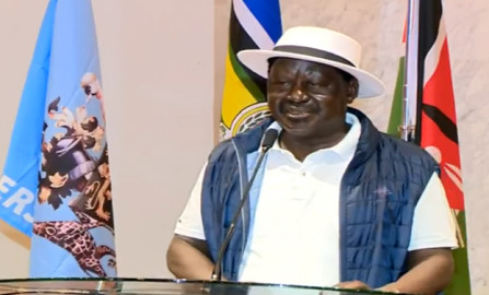 Raila promises 4 cabinet positions to the youth if elected President