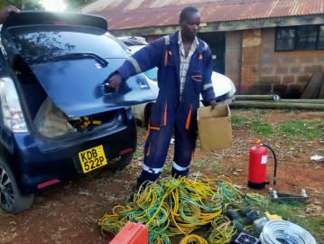 Man arrested for vandalizing Safaricom telecommunication equipment worth Ksh.2M