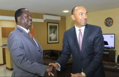 Murang'a leaders now want Raila Odinga to pick Peter Kenneth as running mate