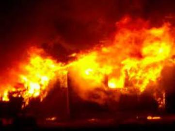 Dormitory housing 280 students burns down at school in Migori