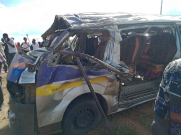 Two drivers perish, four others injured in grisly Makueni accident