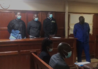 Three cops charged with aiding Masten Wanjala's escape from police cell