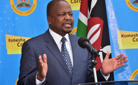 COVID-19: Kenya records 44 new cases, 2 deaths; positivity rate now at 1.0pc