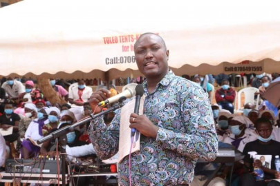 MP Robert Mbui: Large crowds at rallies don't mean more votes