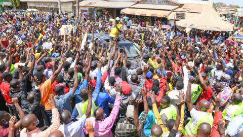 DP Ruto promises to create 4 million jobs for youth