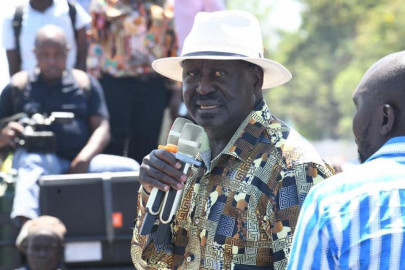 Raila holds rallies in Kisumu, calls for voter listing