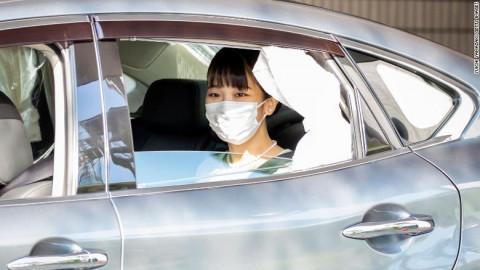 Japan's Princess Mako marries non-royal boyfriend Kei Komuro in subdued ceremony Junko Ogura
