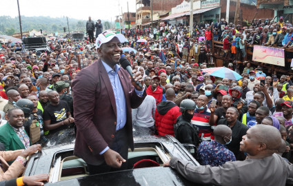85 and counting: DP Ruto's political rallies in October
