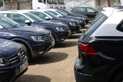 National Police Service receives 40 new vehicles in leasing programme