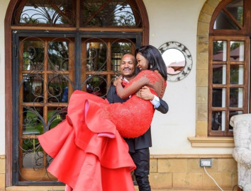 Fridah Muthoni on marrying Babu Owino: He's a coconut, soft on the inside for me