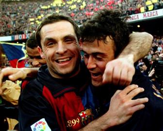 Barcelona name Barjuan as interim coach after Koeman dismissal